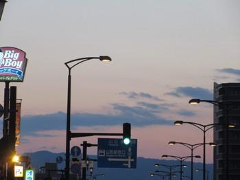 山形県の夕日2